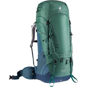 deuter Aircontact 60 + 10 SL Backpack Women, seagreen/marine